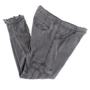 Anthropologie Hei Hei Traveler Cargo Pants 27 Gray